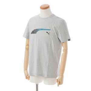 半袖Tシャツ/プーマ(PUMA)メンズFormstripeFadeTee(592720)04杢グレー