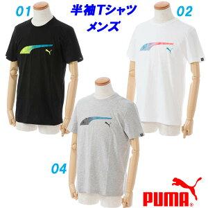 半袖Tシャツ/プーマ(PUMA)メンズFormstripeFadeTee(592720)