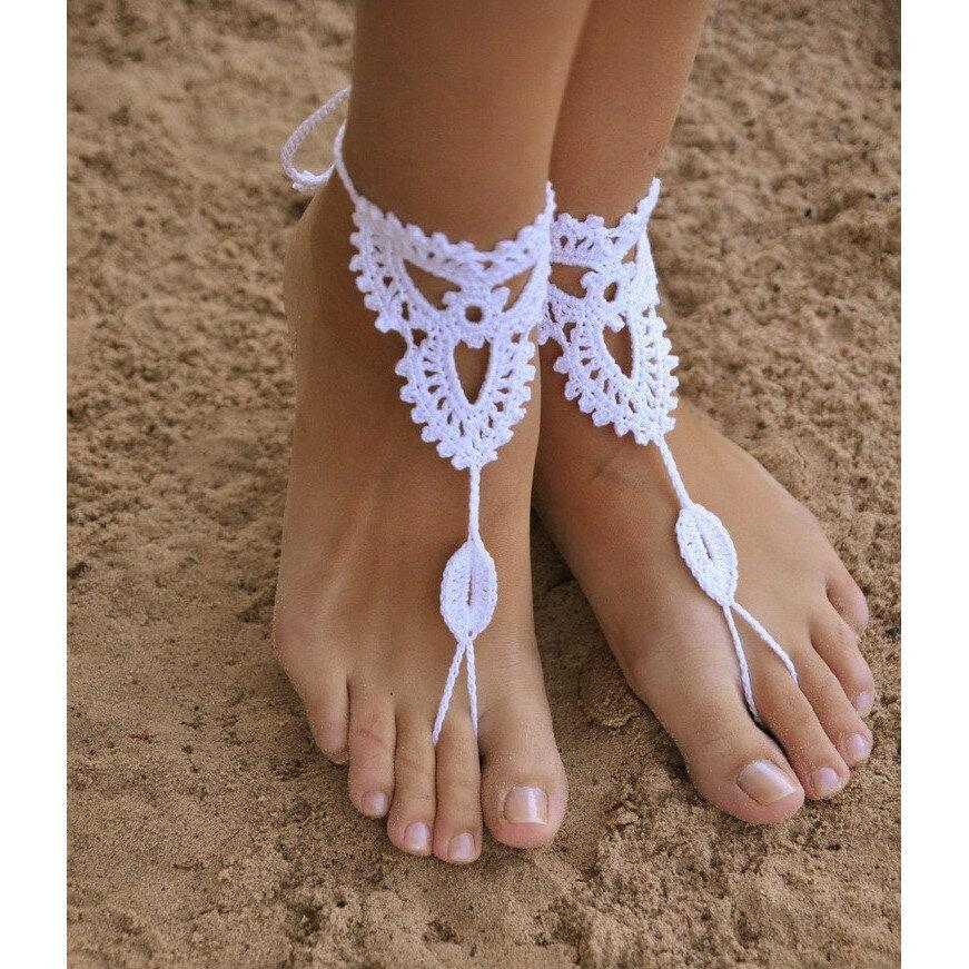両足用 ベアフットサンダル クロッシェ WH barefoot sandal【お中元ギフト】【5400円以上で送料無料】