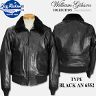 BUZZRICKSON'S(バズリクソンズ)WILLIAMGIBSONCOLLECTION(ウイリアムギブソンコレクション)TYPEBLACKAN6552【BR80491】