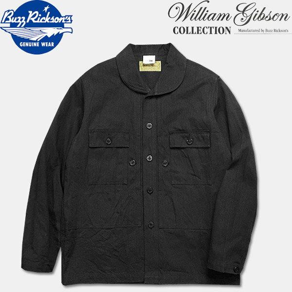 メンズファッション, コート・ジャケット BUZZ RICKSONSWILLAM GIBSON COLLECTION()BLCAK HERRINGBONE UTILITY JACKETBR13935