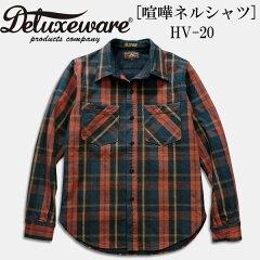 3社合同企画、ガチンコ[喧嘩ネルシャツ]Deluxeware(デラックスウエアー)チェックワークシャツ...