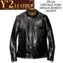 Y'2 LEATHER (ワイツーレザー)VINTAGE P...