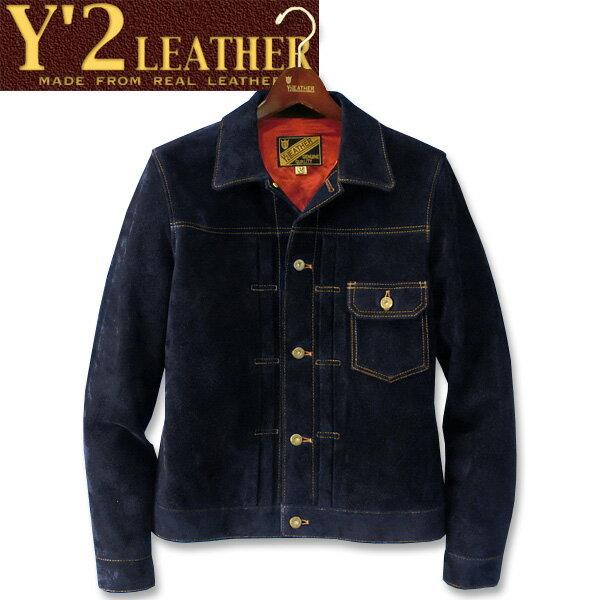 メンズファッション, コート・ジャケット  Y2 LEATHER STEER SUEDE 1st Type GGTB-140