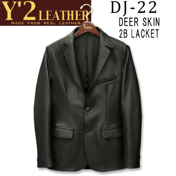 メンズファッション, コート・ジャケット  Y2 LEATHER DEER SKIN B2 JACKETDJ-22