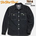 THEFLATHEAD(フラットヘッド)ウォバッシュワークシャツ【7014W】