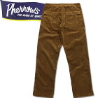 ★Pherrow's(フェローズ)コーデュロイベイカーパンツ【19W-PUTP-W】ベージュ