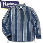 PHERROW'S(フェローズ)長袖チェックネルシャツ【20W-720WS】ネイビー
