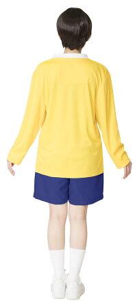 泣き虫少年なりきりキャラパーティーコスチューム仮装のび太男女兼用ドラえもんユニセックス衣装コスプレ変装
