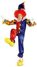 プレゼント付/バブルズ・ザ・クラウン/BubblestheClown/子供用男の子キッズハロウィン衣装コスチューム