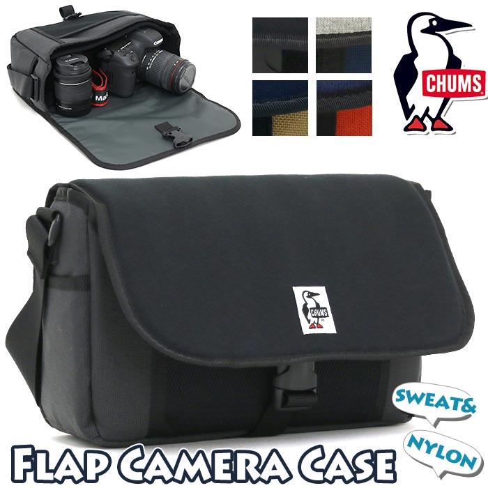 バッグ, ショルダーバッグ  CHUMS SWEATNYLON Flap Camera Case Sweat Nylon CH60-2928