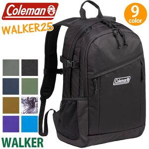 243c81aea272 ポイント10倍> 【正規品】 Coleman コールマン リュック walker25 ウォーカー25 リュックサック バックパック デイパック メンズ  レディース 男女兼用 ブラ.