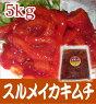 スルメイカキムチ5キロ(500g袋での発送)