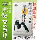 農酒マッコリ(韓国産)960ml紙パック1本