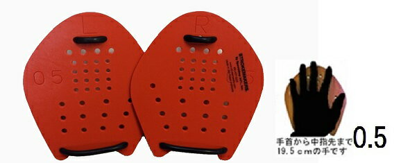 4dfc1317f49 水泳トレーニング用品 パドル ストロークメーカーNEOオレンジ0.5 パドル...:hamadesports: