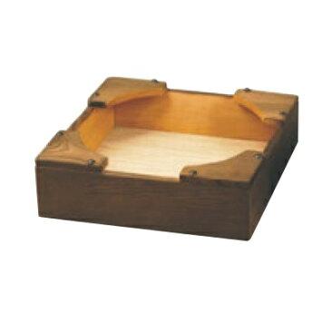 韓国食器 ビビンバ鍋 焼杉 ビビンバ 箱台 小 幅165 奥行165 高さ60/業務用/新品