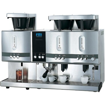 【業務用】 FMI コーヒーマシン カフェトロン ドリップ2連アイスユニットドッキングタイプ CT-241+CT-1103C 【送料無料】