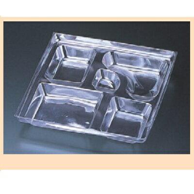 弁当箱 8.5寸透明仕切(2000枚入)/業務用/新品