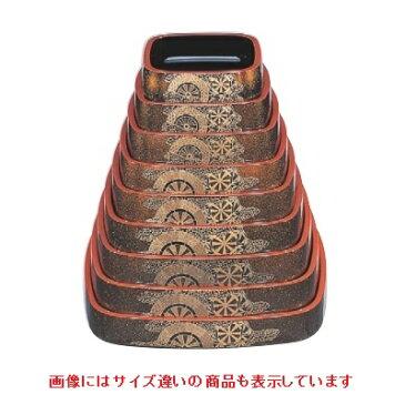 寿司桶 角D.X桶梨地御所車尺4寸 幅415 奥行415 高さ65/業務用/新品