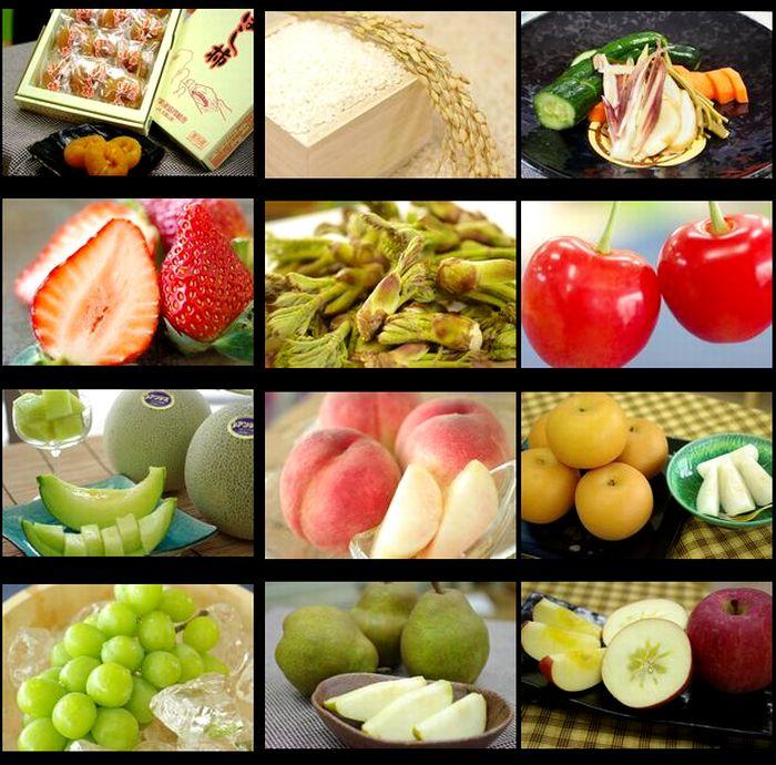 山形県産のフルーツ&農産物頒布会 「6ヶ月」果物コース定期購入 ※送料は別途6回分加算されます※