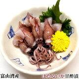 【富山湾産ほたるいか】ほたるいか甘酢漬170g