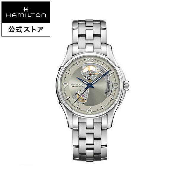 Hamilton ハミルトン 公式 腕時計 Jazzmaster Open Heart ジャズマスター オープンハート メンズ メタル   正規品 時計 メンズ腕時計 ブランド 機械式自動巻 ウォッチ ブレスレットウォッチ ビジネス 機械式 watch 男性 スイス シルバー文字盤 男性用腕時計