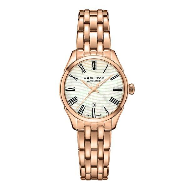 Hamilton ハミルトン 公式 腕時計 Jazzmaster Lady ジャズマスターレディ レディース メタル | 正規品 時計 ブレスレットウォッチ ブレスレット レディース腕時計 ブランド腕時計 レディースウォッチ 女性腕時計 女性 女性用腕時計 機械式自動巻 マザーオブパール