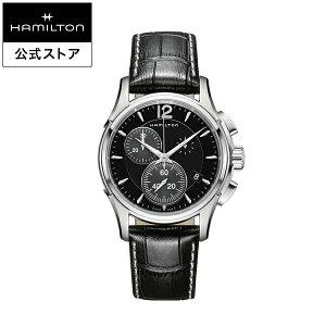 ハミルトン 公式 腕時計 Hamilton JM D CQ42-sch-l-sch ジャズマスター クロノクォーツ メンズ レザー クオーツ H32612731 男性 男性用腕時計 ギフト ブランド ギフト おしゃれ