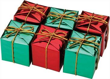 ギフトボックスオーナメント M 6Pクリスマスツリー飾り オーナメント