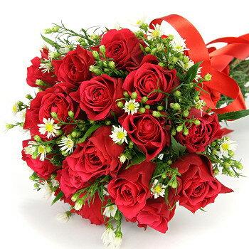送料無料 お中元 開店祝い 出産祝い プレゼント 赤バラの 花束 出産祝い 人気ランキング 花束 結婚記念日 (就任 送別 誕生日 などにも) バラ ★ 14