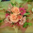 誕生日卒業送別 プレゼント おまかせ ピンク系アレンジメント 花 人気ランキング 花ギフト 花束 結婚記念日(就任送別 誕生日 などにも) バラ 就任送別 8