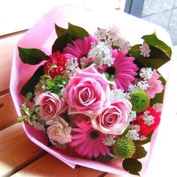 送料無料 お中元 開店祝い 開院祝い プレゼント おまかせ ピンク系 ブーケ 花束 開院祝い 花 人気ランキング 花ギフト 花束 結婚記念日 (就任 送別 誕生日 などにも) バラ 就任 送別 97 花束