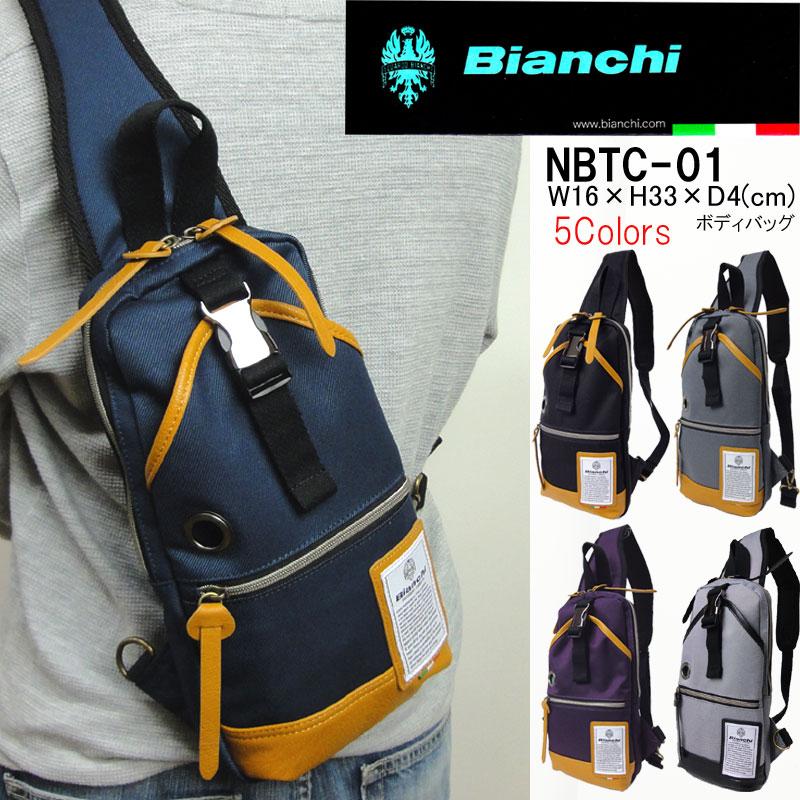 【楽天市場】Bianchi ビアンキ ボディバッグ メンズ NBTC-01 ボディ ...