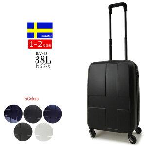 イノベーター スーツケース トリオ 機内持ち込みサイズ Sサイズ innovator INV48 キャリーバッグ キャリーケース 容量38L(1泊〜2泊) 軽量丈夫 TSAロック あす楽対応 正規品