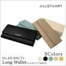 ジルスチュアートJILLSTUART長財布かぶせタイプJSLW6CT1