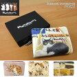 Manhattaner's マンハッタナーズ 二つ折り財布 レディース 猫 ねこ フレンチパース 075-1632 あす楽 送料無料【コンビニ受取対応商品】