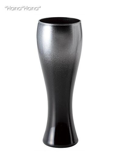 エクラ ビールグラス 360cc シルバー ガラス (お取り寄せ品)