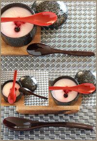都茶碗蒸しスプーン(長型)