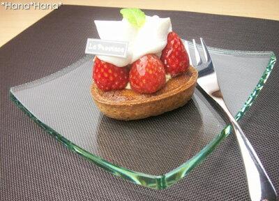 アイテムを使い分けたいガラス食器グランデヴェートロ スクエアプレートSS【YDKG-tk】