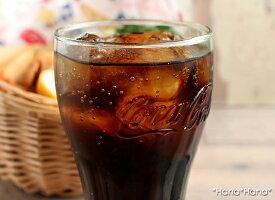 コカ・コーラジェヌインタンブラーグラス370mlグリーン