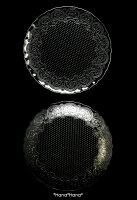 コンテスホールケーキプレート33cmクリアガラス