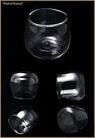 耐熱ダブルガラスアメティスタミニグラス120ml