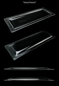 ガラス長角プレート(大)31x11cm