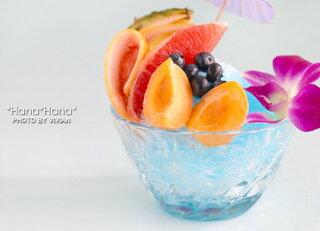 ブルーハワイかき氷器