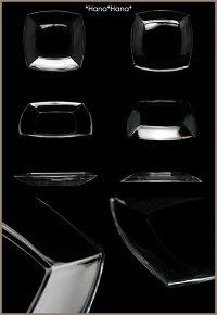 ガラス・Tokioスクエア深型プレート19.5cm【アウトレット品】【直輸入価格】