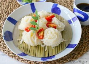 ルリ太唐草 深皿 麺皿 21.5cm(ざる/すのこ付き) 波佐見焼 //和食器 お皿 おしゃれ