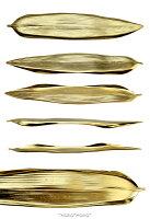 笹トリプルカトラリーレスト15cmマットゴールド
