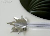 紅葉箸置きマットシルバー