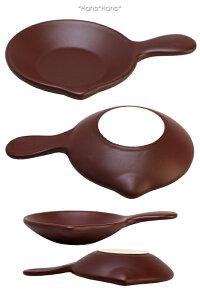 バル片手片口パン直径12cmブラウン