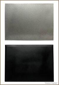 長角フラットプレイスマット折敷43cmシルバー漆器